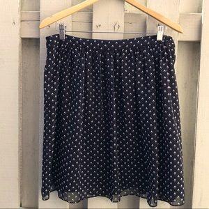 Worthington Black Casual Skirt